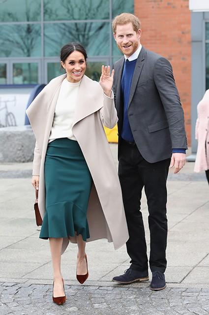 Месяц до свадьбы: Меган Маркл все еще оформляет британскую визу (ФОТО)