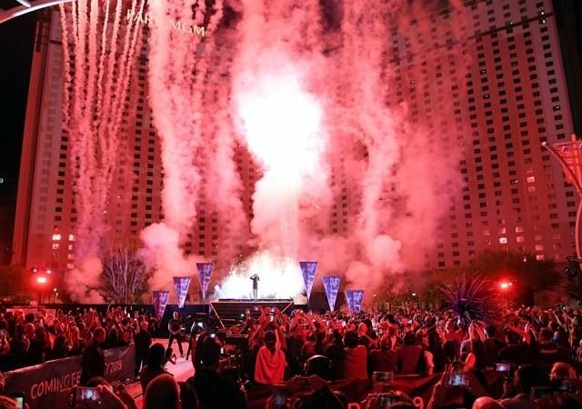 Бритни Спирс устроила грандиозное шоу на улицах Лас-Вегаса
