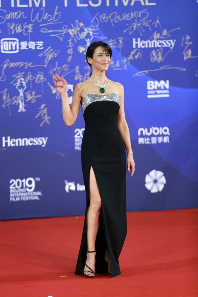 Бесконечно элегантная Софи Марсо в Китае