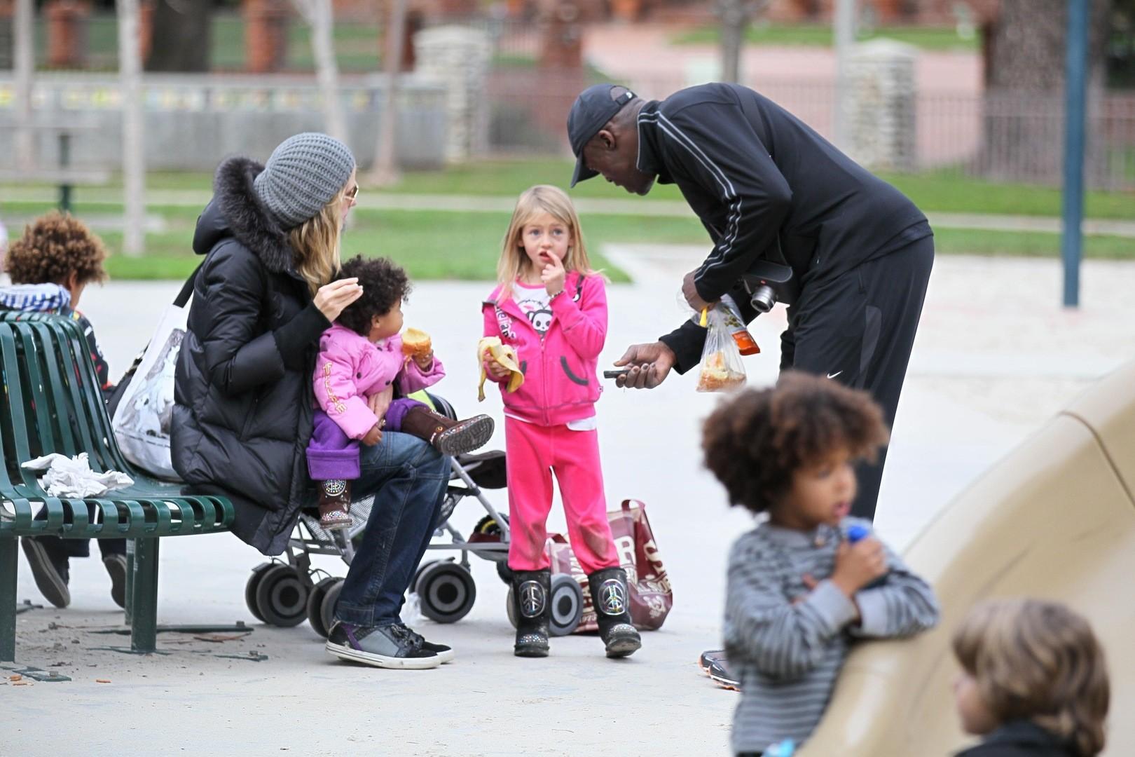 Как на наших глазах выросли четверо детей супермодели Хайди Клум