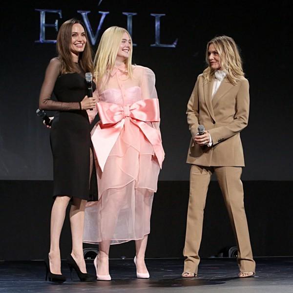 Анджелина Джоли продемонстрировала осиную талию и крутые бедра