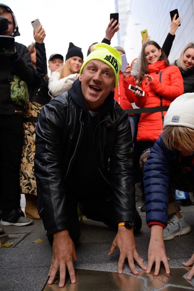 Потап получил именную звезду в центре Киева