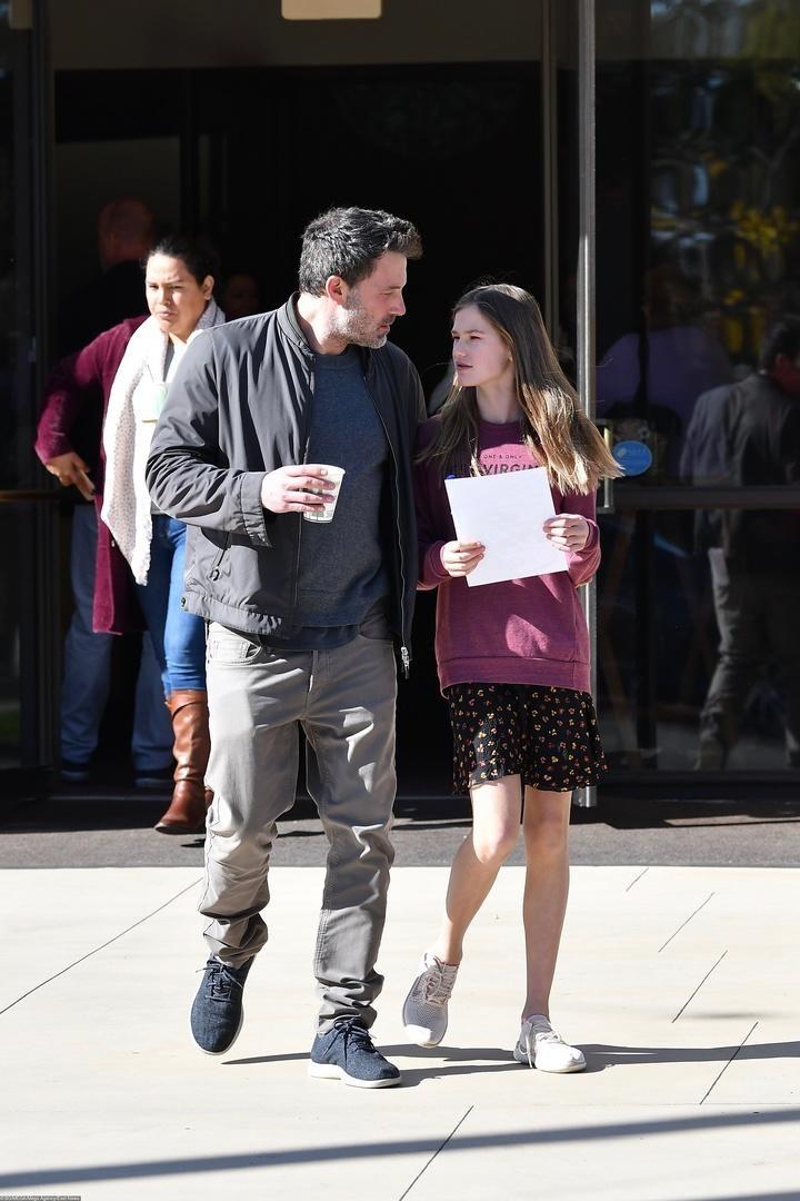 14-летняя дочь Бена Аффлека и Дженнифер Гарнер выросла копией мамы