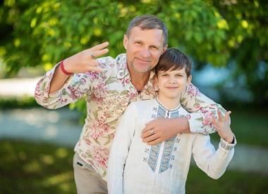 Младший сын Олега Скрипки собирается выпустить первый альбом